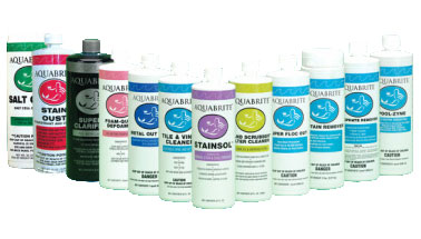 Swimming Pool and Spa Chemicals