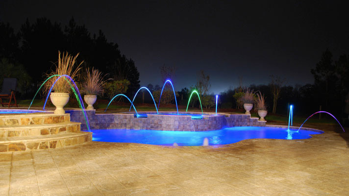Foust Pool Construction Swimming Pool Lighting For