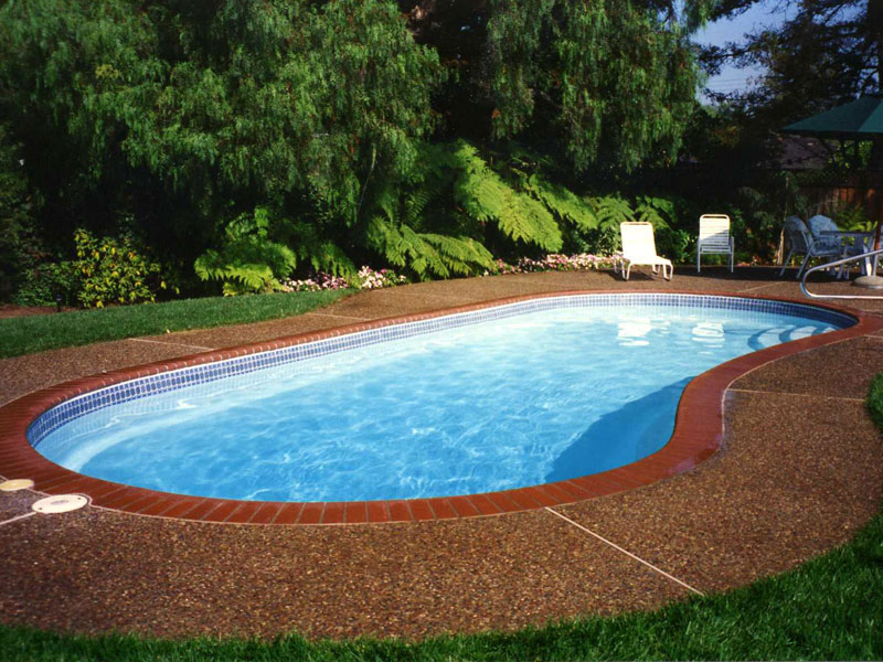 Foust pool construction fiberglass inground swimming for Pool design options
