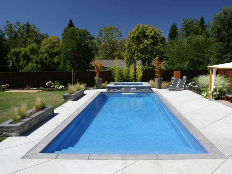 Foust Pool Construction Fiberglass Inground Swimming